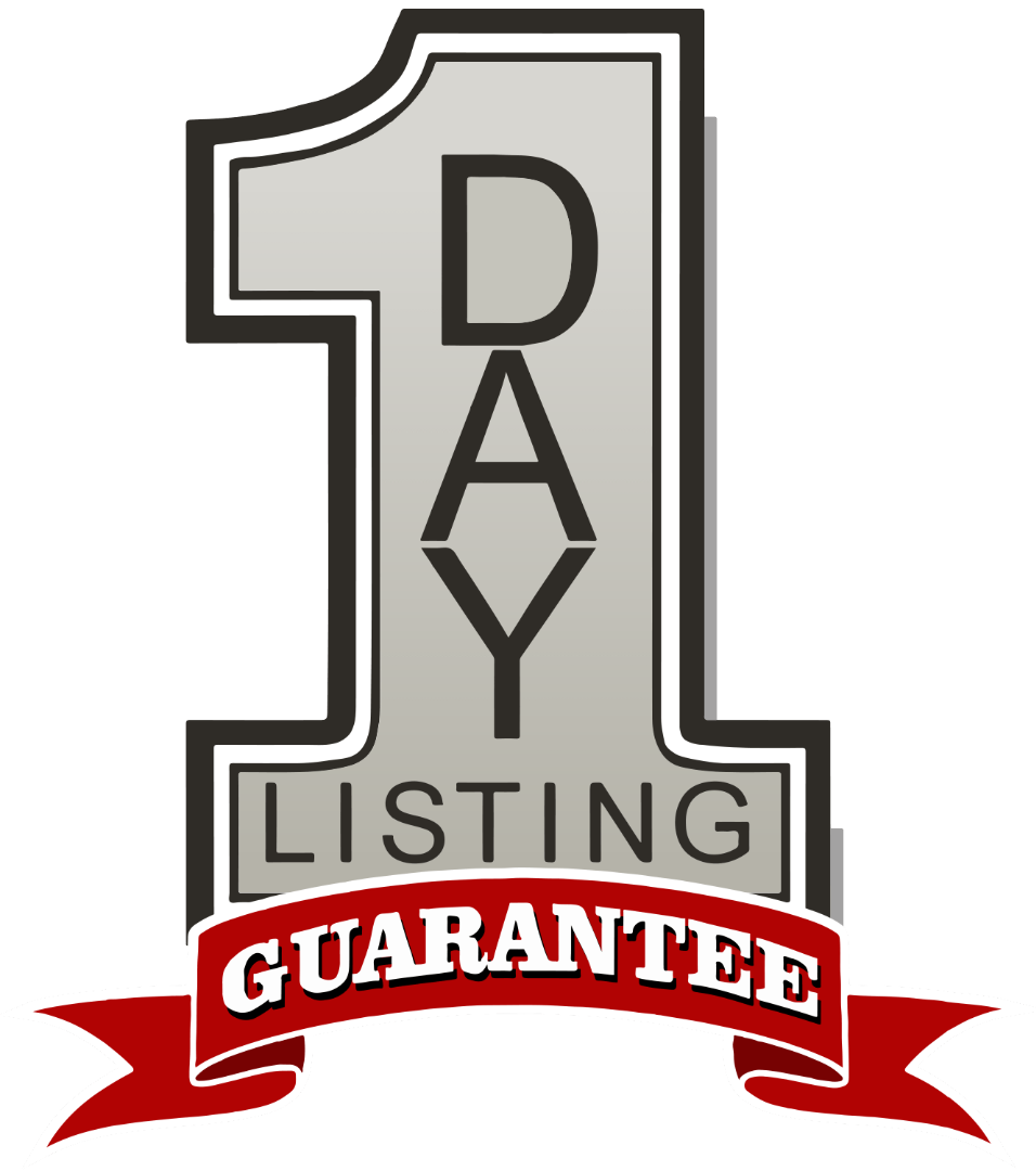one day listing guarantee